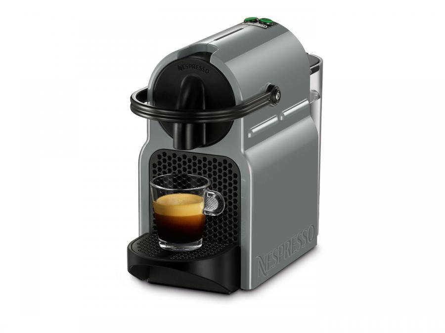 Капсульная кофеварка DELONGHI Nespresso Inissia EN 80.GY, 1260Вт, цвет: серый
