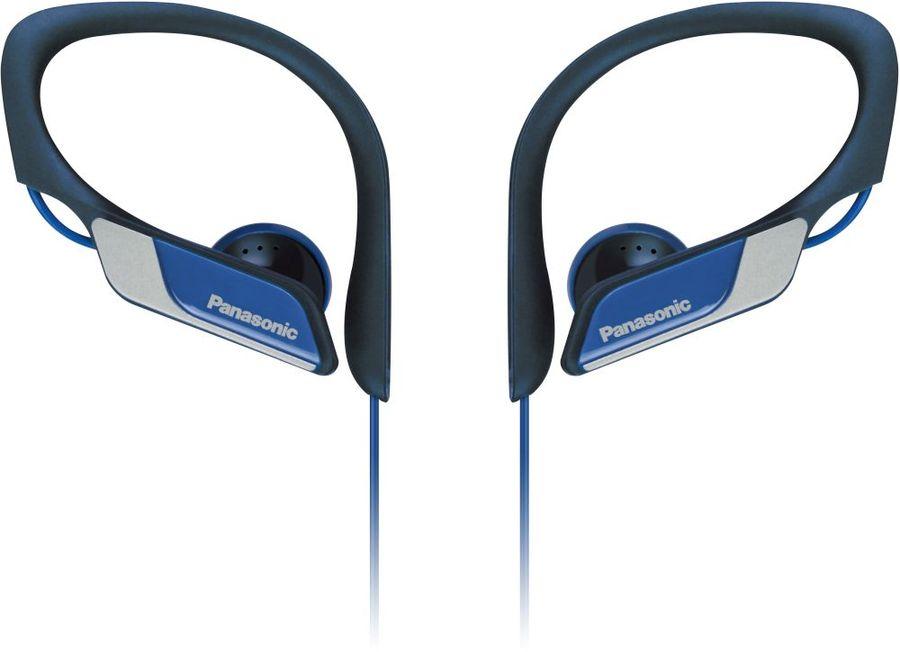 Наушники PANASONIC RP-HS34E-A, 3.5 мм, вкладыши, синий