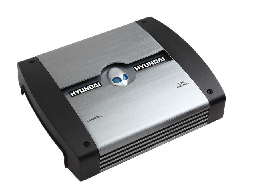 Усилитель автомобильный HYUNDAI H-SA802,  серебристый [h-sa802(серебро)]