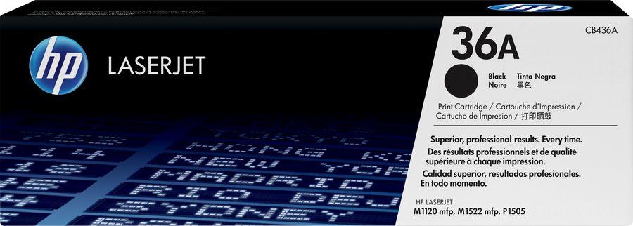 Картридж HP 36A черный [cb436a]