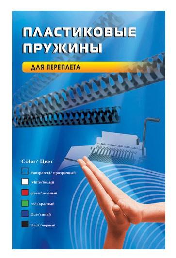 Пружина пластиковая OFFICE KIT BP2138,  4.5мм,  2 - 15 листов,  A4,  100,  красный