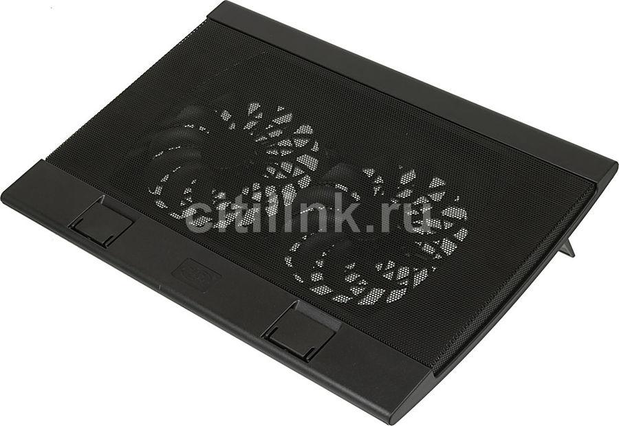 """Подставка для ноутбука Deepcool WIND PAL FS (WINDPALFS) 17""""382x262x24мм 27дБ 2xUSB 2x 140ммFAN 793г"""