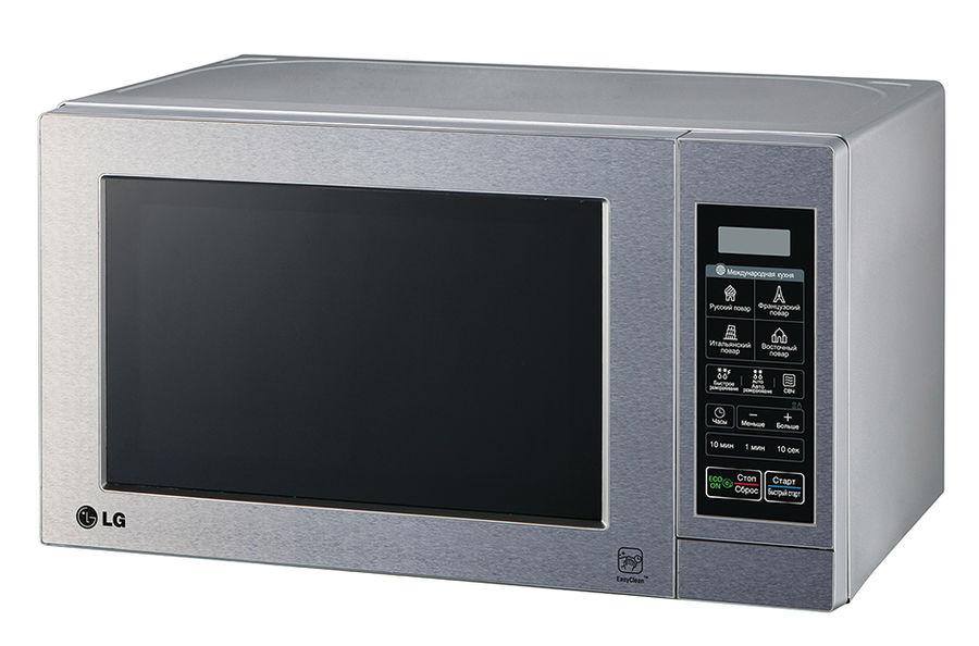 Микроволновая печь LG MS2044V, серебристый