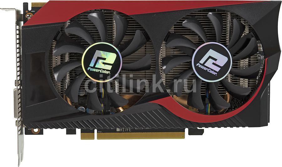 Видеокарта POWERCOLOR Radeon R7 265,  AXR7 265 2GBD5-TDHE/OC,  2Гб, GDDR5, OC,  Ret