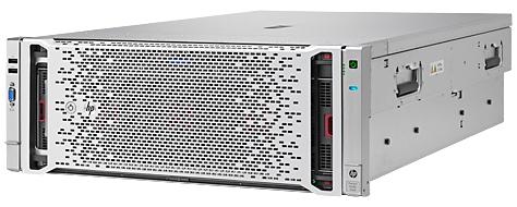 Сервер HPE ProLiant DL580 Gen8 4xE7-4850v2 16x8Gb x10 2.5