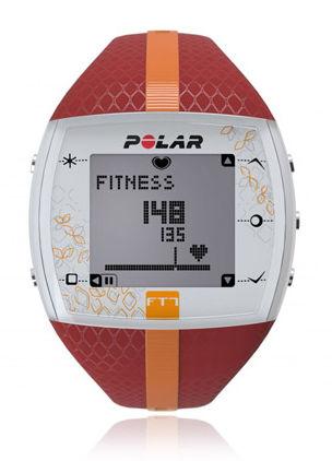 Часы-пульсометр Polar FT7F красный/оранжевый [90048734]