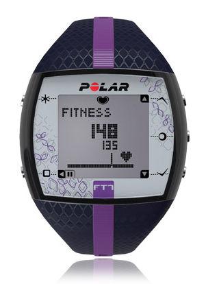 Пульсометр Polar FT7F черный/фиолетовый [90051045]