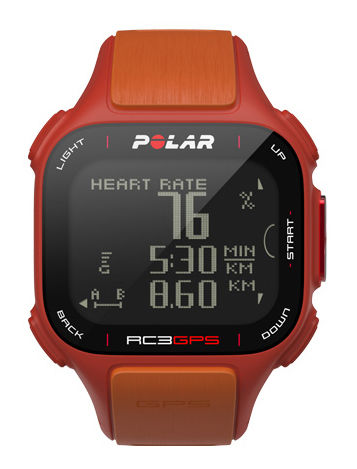 Часы спортивные POLAR RC3 [90047387]