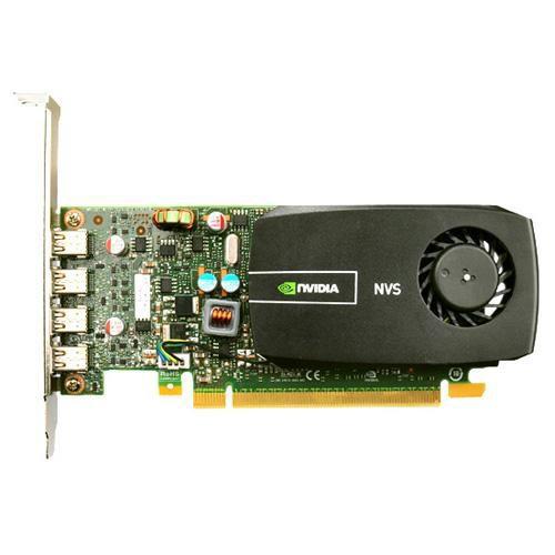 Видеокарта DELL Quadro NVS 510,  2Гб, DDR3, Low Profile,  oem [490-14226]