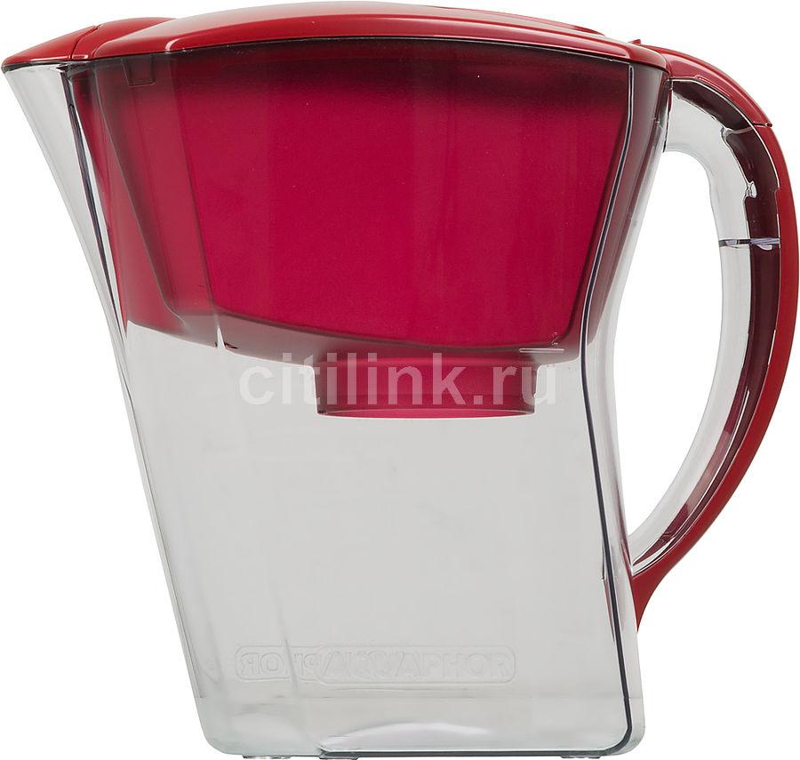 Фильтр для воды АКВАФОР Премиум,  красный,  3.8л