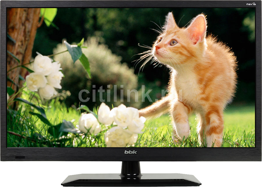 "LED телевизор BBK 24LEM-1004/T2C  ""R"", 24"", HD READY (720p),  черный"