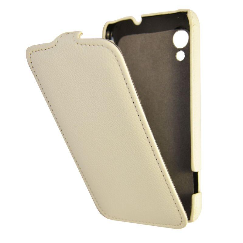 Чехол (флип-кейс) ARMOR-X flip full, для Lenovo S720, белый