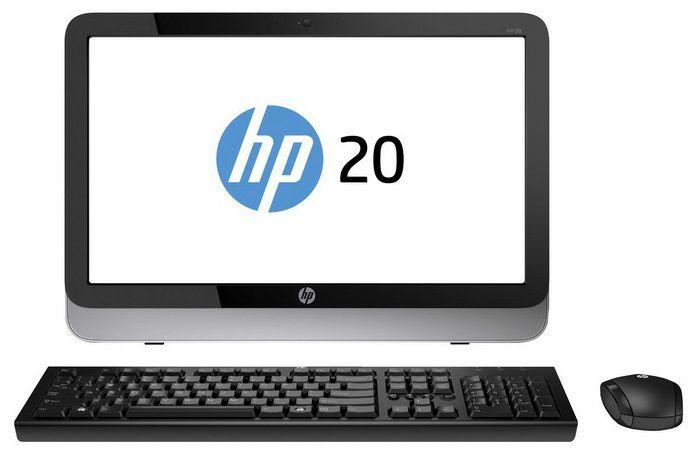 Моноблок HP Pavilion 20-2000er, AMD E1 2500, 4Гб, 500Гб, AMD Radeon HD 8420 - 1024 Мб, DVD-RW, Windows 8.1 Emerging Markets [f9q84ea]