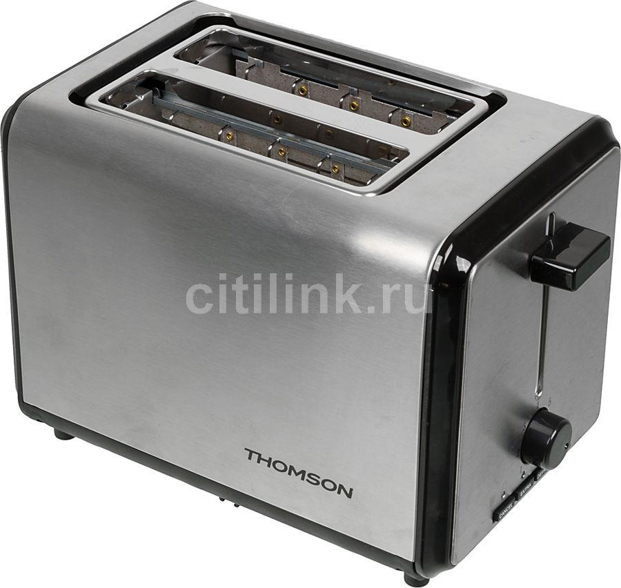 Тостер THOMSON THTO07372,  серебристый