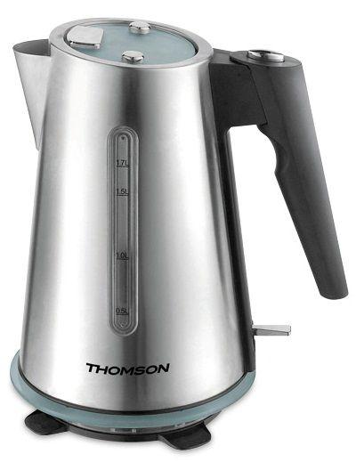 Чайник электрический THOMSON THKE05590, 2200Вт, серебристый