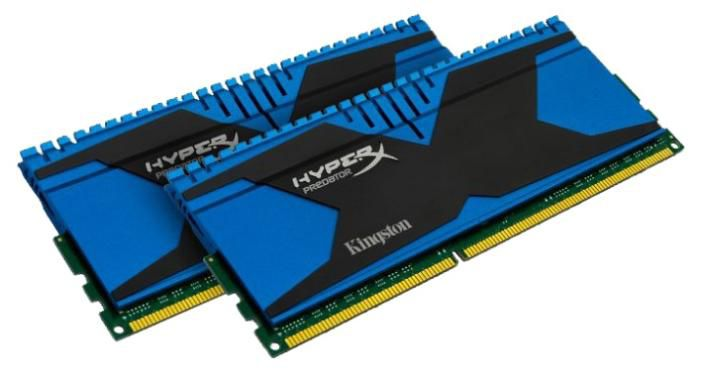 Модуль памяти KINGSTON HyperX Predator KHX18C10T2K2/8 DDR3 -  2x 4Гб 1866, DIMM,  Ret