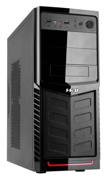Компьютер  IRU Corp 710,  Intel  Core i7  4770K,  DDR3 16Гб, 3Тб,  nVIDIA GeForce GTX 660 - 2048 Мб,  DVD-RW,  Windows 7 Professional,  черный [913625]