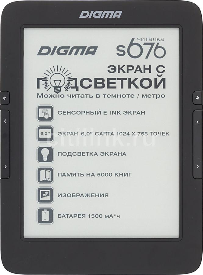 Электронная книга DIGMA S676,  6