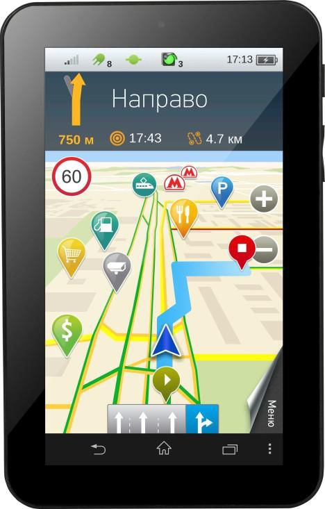 GPS навигатор SHTURMANN Life 7000 3G,  7
