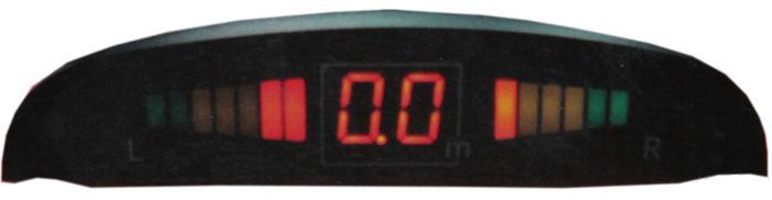 Парковочный радар PHANTOM PS 4C,  серебристый [ps 4c (sl)]