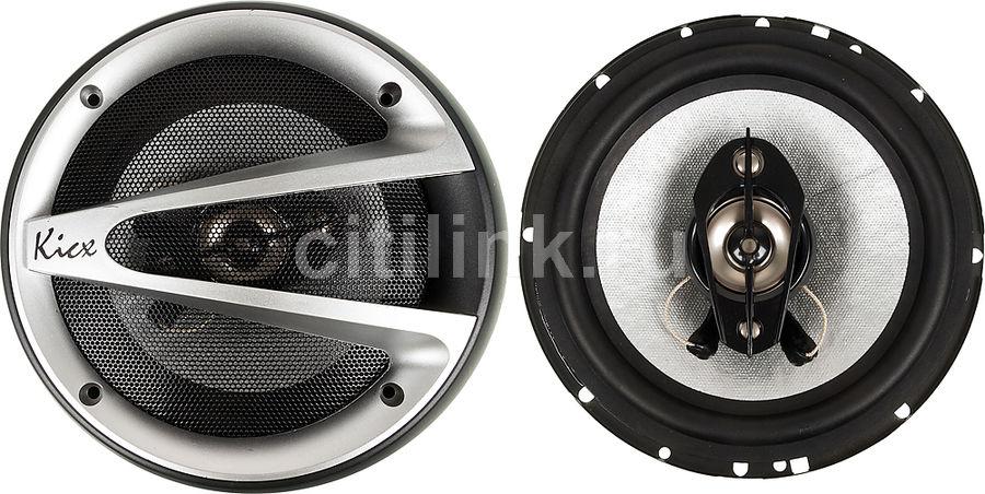 Колонки автомобильные KICX RTS 165V,  коаксиальные,  130Вт,  комплект 2 шт. [2012009]