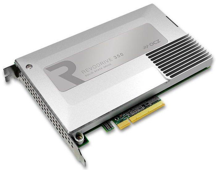 Накопитель SSD OCZ RevoDrive 350 RVD350-FHPX28-480G 480Гб, PCI-E AIC (add-in-card), PCI-E x8