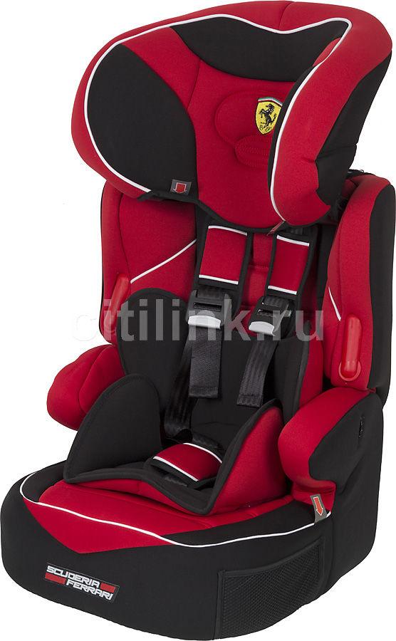 Автокресло детское NANIA Beline SP (Ferrari), 1/2/3, красный/черный [588338, 588838]
