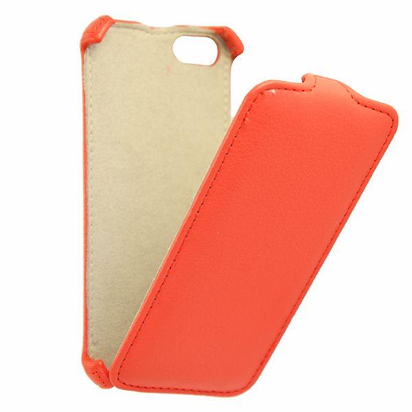Чехол (флип-кейс) ARMOR-X flip, для Apple iPhone 5/5s, красный