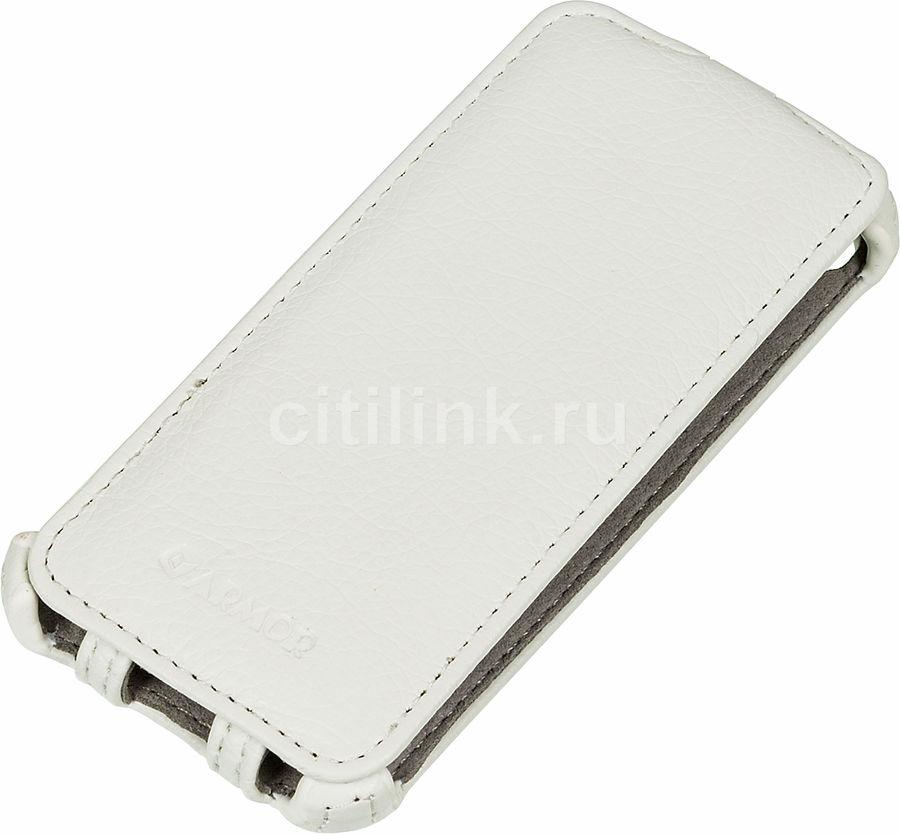 Чехол (флип-кейс) ARMOR-X flip, для Apple iPhone 5/5s, белый