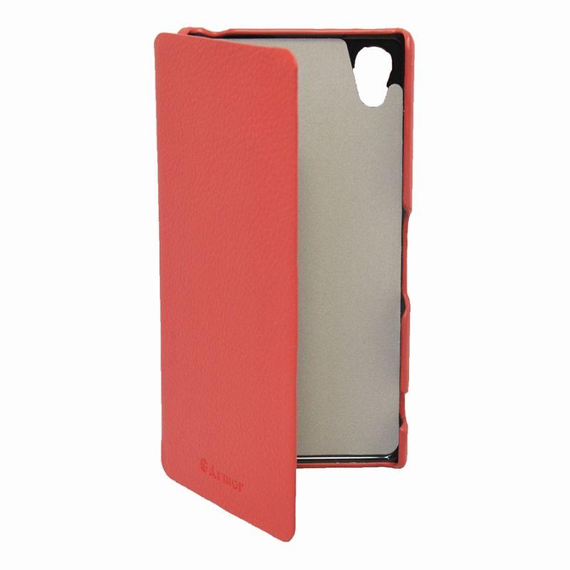 Чехол (флип-кейс) ARMOR-X book, для Sony Xperia Z2, красный