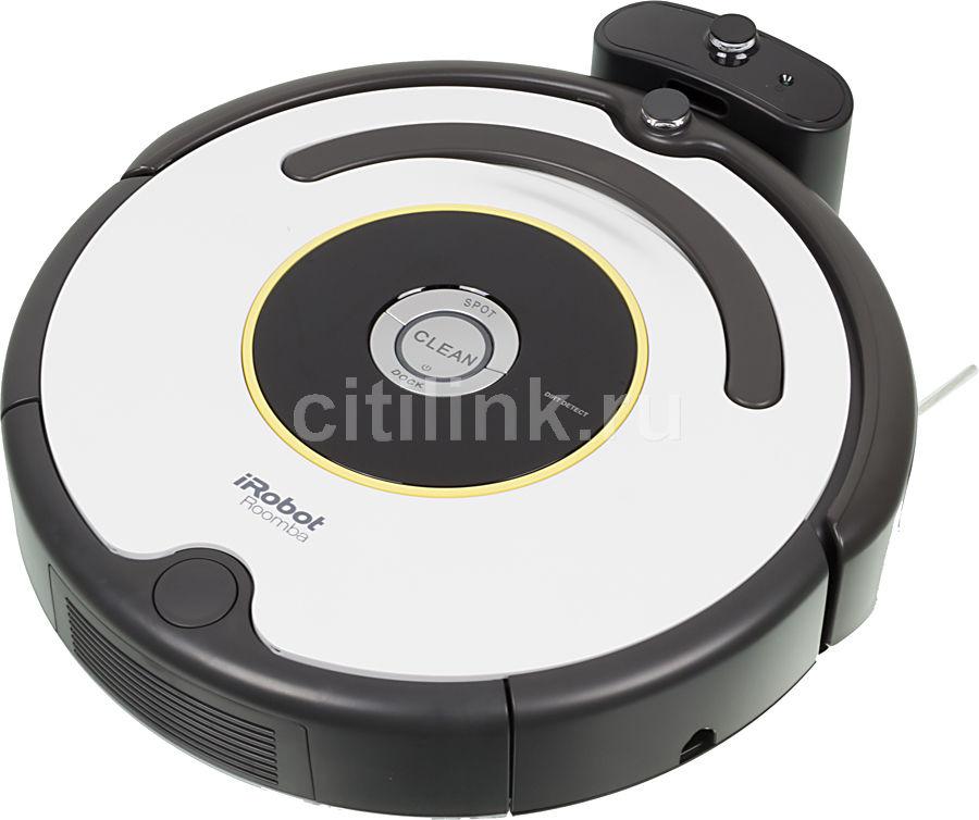 Робот-пылесос IROBOT Roomba 620, серебристый