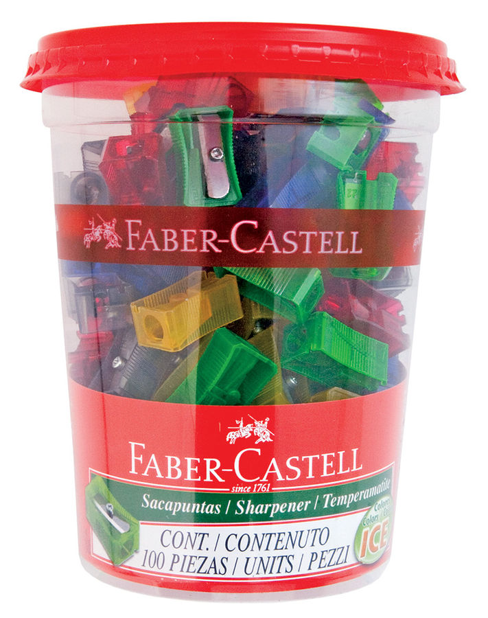 Точилка для карандашей FABER-CASTELL 580000  механическая