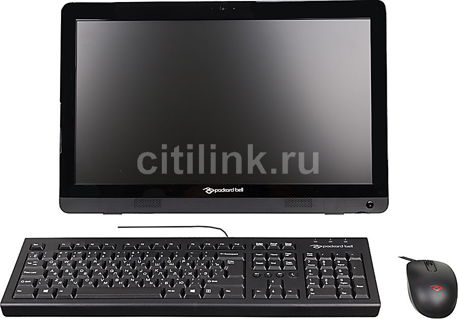 Моноблок ACER Packard Bell oneTwo S3270, AMD E1 2500, 4Гб, 500Гб, DVD-RW, Free DOS, черный [dq.u86er.009]