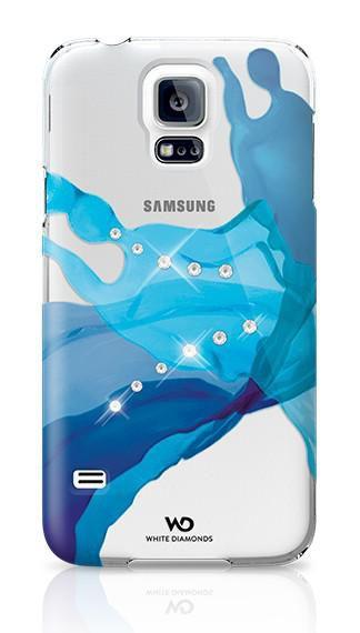 Чехол (клип-кейс) WHITE DIAMONDS Liquids, 2410LIQ44, для Samsung Galaxy S5, синий