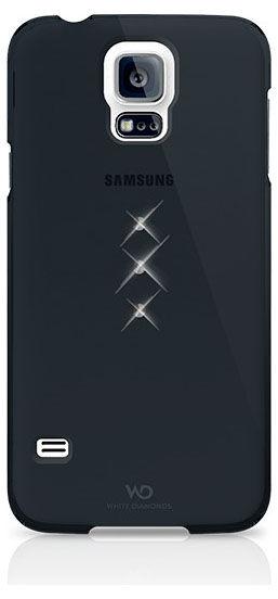 Чехол (клип-кейс) WHITE DIAMONDS Trinity, 2410TRI6, для Samsung Galaxy S5, черный