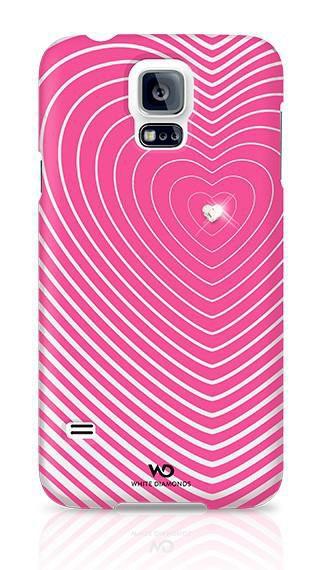 Чехол (клип-кейс) WHITE DIAMONDS Heartbeat, для Samsung Galaxy S5, розовый [2410hbt41]