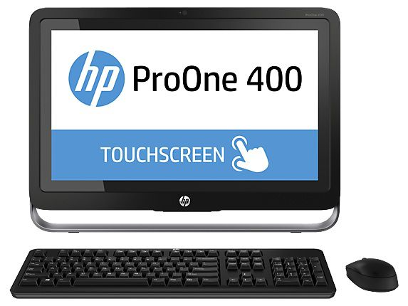 Моноблок HP ProOne 400 G1, Intel Core i5 4570T, 4Гб, 500Гб, Intel HD Graphics 4600, DVD-RW, Windows 8.1 Professional, черный и серебристый [f4q64ea]
