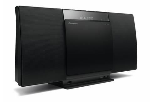 Музыкальный центр PIONEER X-SMC01-K,  черный