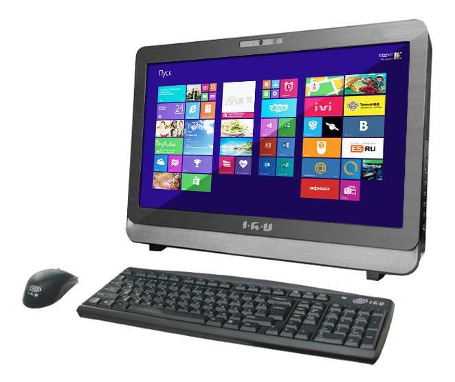 Моноблок IRU 311, Intel Core i5 3330, 4Гб, 1000Гб, AMD HD Graphics 2500, DVD-RW, Free DOS, черный