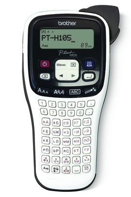 Принтер Brother P-touch PT-H105 переносной черный/белый [pth105r1]