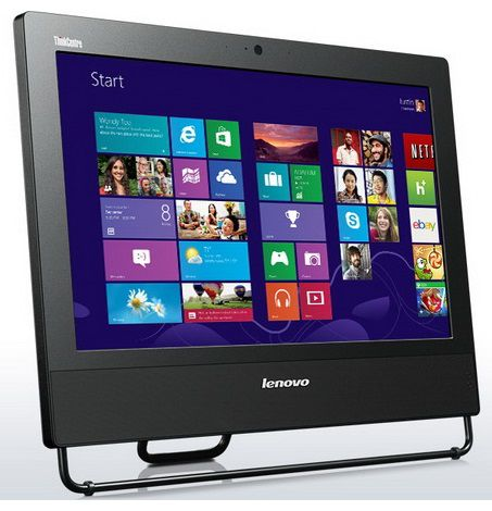 Моноблок LENOVO ThinkCentre M73z, Intel Core i3 4130, 4Гб, 500Гб, DVD-RW, Windows 8 Professional [10bba047ru]