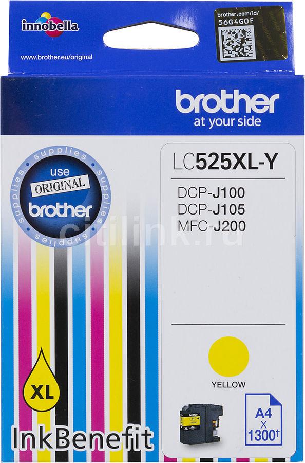 Картридж BROTHER LC525XLY желтый