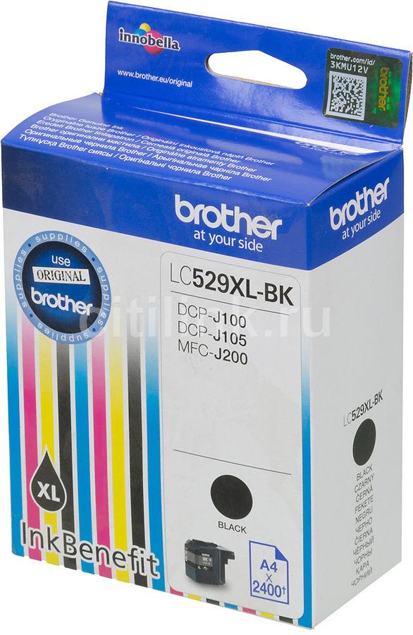 Картридж BROTHER LC529XLBK черный