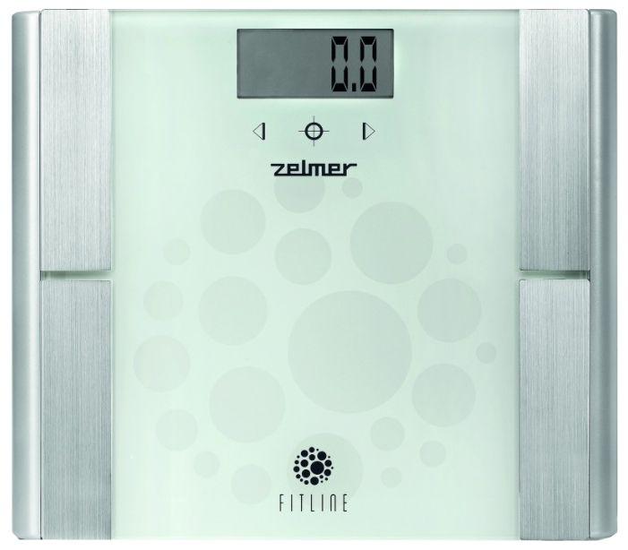 Весы ZELMER ZBS28500, до 180кг, цвет: белый