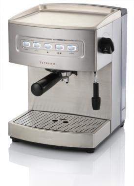 Кофеварка ZELMER ZCM2051X,  эспрессо,  серебристый
