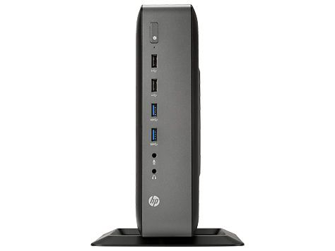 Тонкий Клиент  HP t620 Plus,  AMD  GX-420CA,  DDR3L 4Гб, 16Гб(SSD),  AMD FirePro 2270 - 512 Мб,  Windows Embedded Standard 8,  черный [g6f22aa]