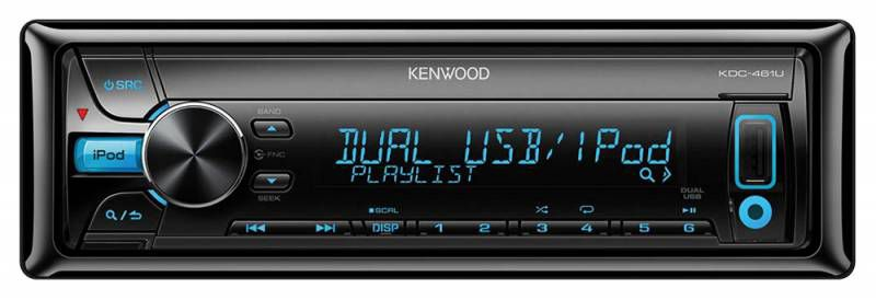 Автомагнитола KENWOOD KDC-461U,  USB