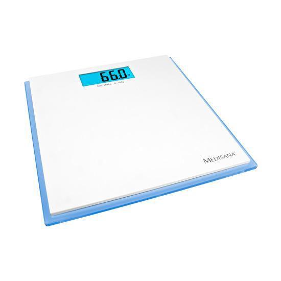 Весы MEDISANA ISB, до 180кг, цвет: белый/голубой [40485]
