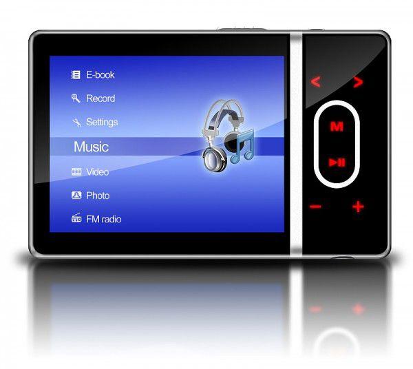 MP3 плеер DIGMA MP750 flash 4Гб черный