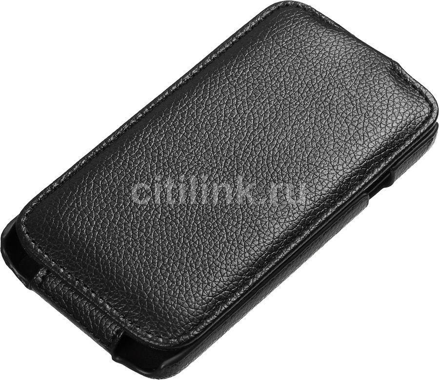 Чехол (флип-кейс) ARMOR-X flip full, для LG Optimus L70, черный